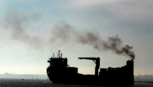 ships all over Earth are producing air pollution, life is changing